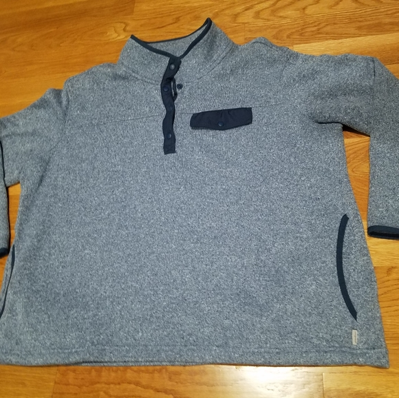 Eddie Bauer Knit Sweater Fleece size XXL women
